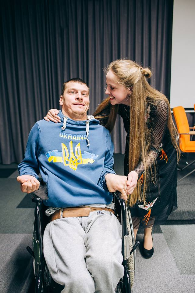 enfants handicap famille ukraine